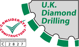 UK Diamond Drilling Logo