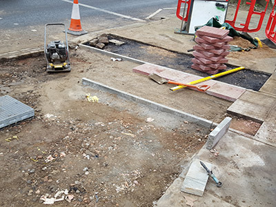 civils and highway road maintenance