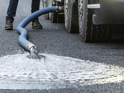 permeable surface road drilling